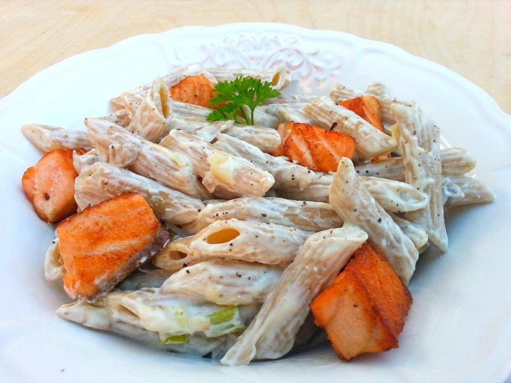 pasta cremosa salmón1