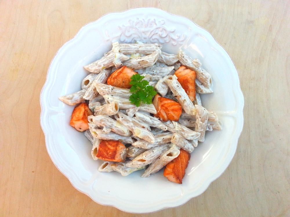 pasta cremosa salmón2