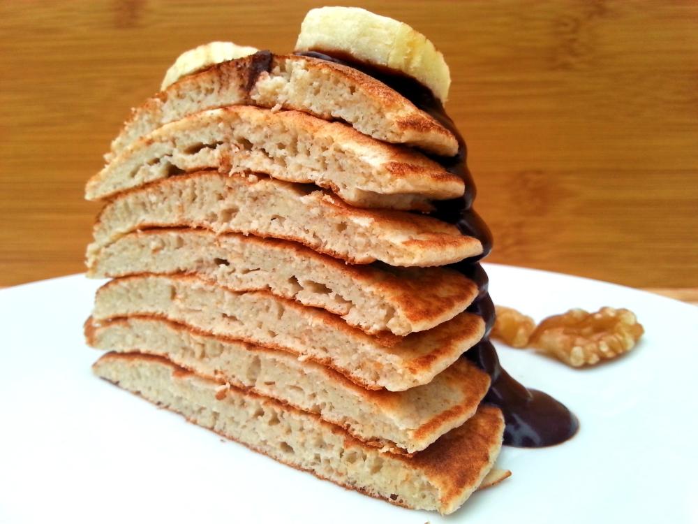 pancakes de plátano4